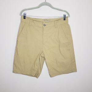 Eddie Bauer Travex Nylon Shorts Size 32 Tan